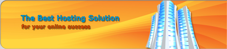 The best hosting solution for your online success.